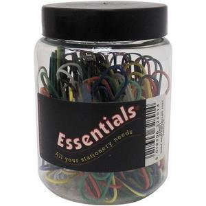 Essentials (51mm) Giant Paper Clips (Assorted Colour)