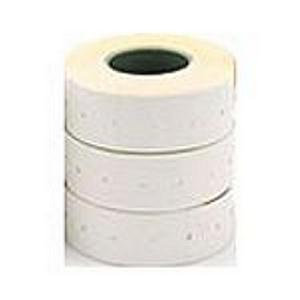 Apli Permanent Labels (21mm x 12mm) White on Roll for Labeling Machines