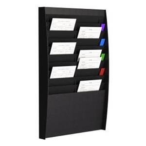 Fast Paper (A4) Document Control Panel 2 x 10 Compartments Wall Mounted