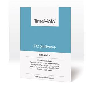 Safescan TimeMoto PC Time Attendance Software (Unlimited Users)