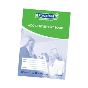 Wallace Cameron Accident Report Book A4