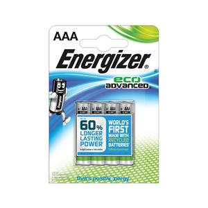 Energizer EcoAdvanced (AAA) Alkaline Batteries