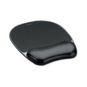 Fellowes Crystal Gel Mouse Pad/Wrist Rest - Pack of 1
