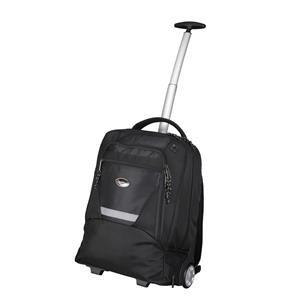 Lightpak MASTER Laptop Trolley Backpack (Black) for 15.4 inch Laptops