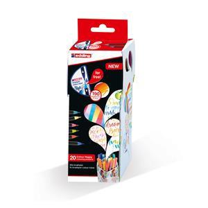 Edding Colour Happy Box of Edding 1340 Brushpens