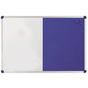 Nobo Classic (900x600mm) Combination Board Felt/Painted Steel (Blue)