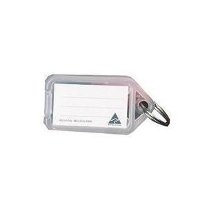 Clicktag Plastic Clear Kevron ID5W