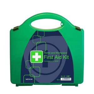 Blue Dot Workplace and Statutory First Aid Kit Eclipse Box BS 8599-1 Compliant