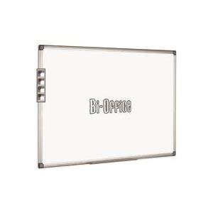 Bi-Office (2400mm x 1200mm) Aluminium Trim Drywipe Board