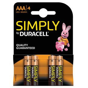 Duracell Simply Battery AAA