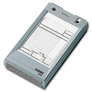 Twinlock Scribe 654 Counter Sales Receipt Business Form 2-Part (102mm x 165mm)