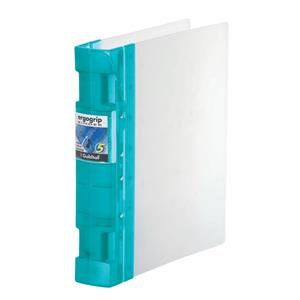 Guildhall GLX Ergogrip Binder Capacity 400 Sheets 4x 2 Prong 55mm A4/ Pack of 2