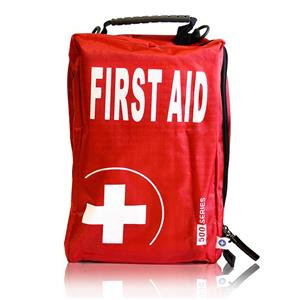 Blue Dot Compact Motorist First Aid Kit In Series Bag
