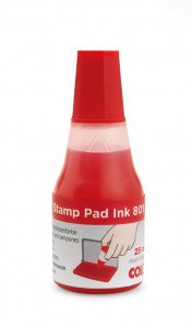 Colop 801 (25ml) High Quality Water Based Stamp Pad Ink / Pack of 1