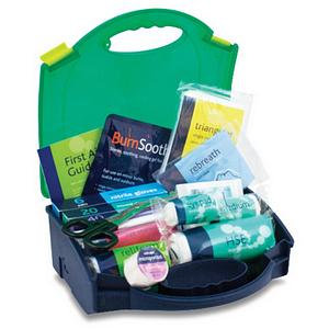 Reliance Medical Small Workplace First Aid Kit in Integral Aura Box BS8599