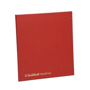 Guildhall 48 Series Headliner Account Book with 21 Cash Columns and 80 Pages