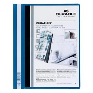 Durable Duraplus (A4) Quotation PVC Folder with Clear Title Pocket 25 Folders