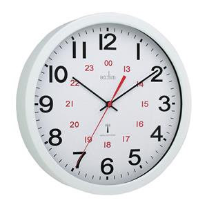 Acctim Controller Radio Controlled (30cm) Wall Clock (White)