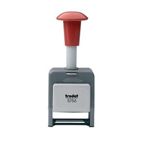 Trodat 5756/P Numberer Stamp Plastic Sequential Automatic Self-inking 8 Fixes