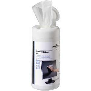 Durable Screenclean Wipes (White)