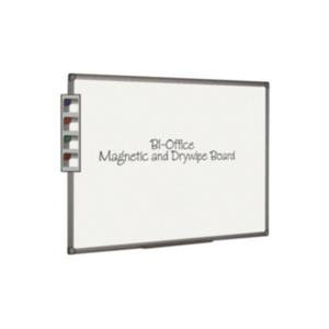 Bi-Office Aluminium Finish Magnetic Board (2400mm x 1200mm)