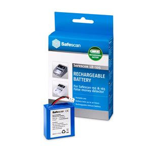 Safescan LB105 Rechargeable Lithium Battery for Safescan 135i,155i and 165i