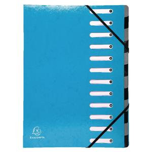 Iderama Harmonika 12 Section Multipart File with Expanding Spine / Pack of 6