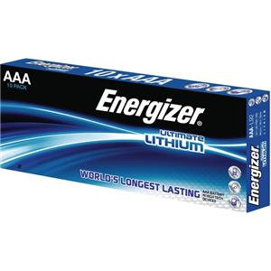 Energizer Ultimate Lithium (AAA) Battery LR03 1.5V