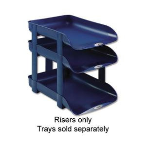 Rexel Agenda2 Risers for Letter Trays (1 x Pack of 5 Risers)