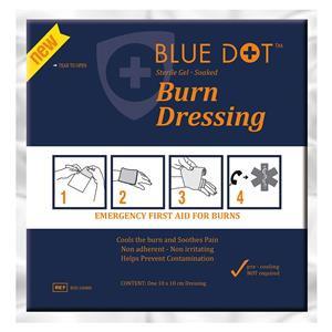Crest Medical Blue Dot (10 x 10cm) Burn Dressing