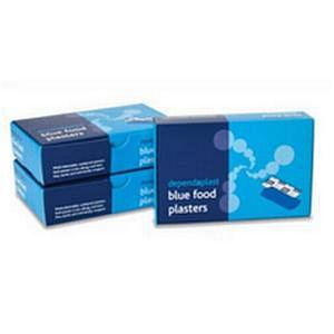Reliance Medical Dependaplast Blue Assorted Plasters