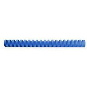 GBC CombBind Binding Combs Plastic 21 Ring 145 Sheets A4 16mm (Blue)