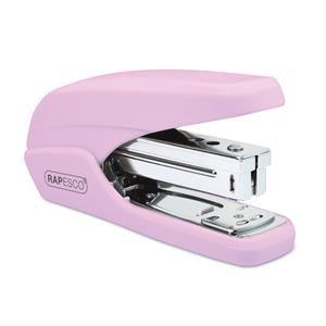 Rapesco X5-25ps Less Effort Desktop Stapler (Pink)