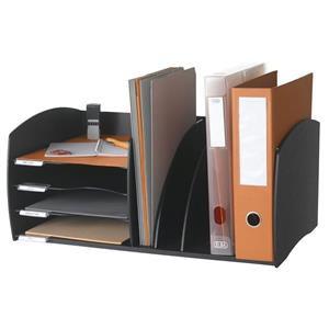 Fast Paper Desktop Organizer 4 Compartments
