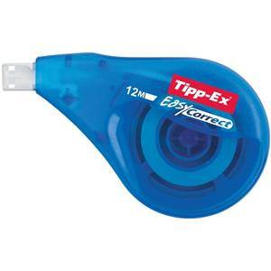 Bic Tipp-Ex EasyCorrect Correction Roller Tape (White) Roller Tapes
