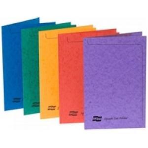 Europa Square Cut Folder 300 micron Foolscap Assortment