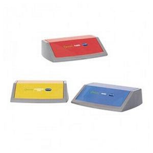 Addis Flip Top Bin Kit Lids in 3 Colours for Recycling