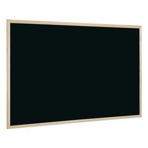Bi-Office (900 x 600mm) Chalk Board Pine Frame (Black)