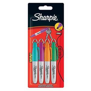 Sharpie Mini Permanent Marker Portable Fine Tip Assorted