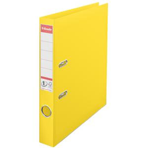 No.1 VIVIDA (A4) 50mm Polypropylene Lever Arch File (Yellow)