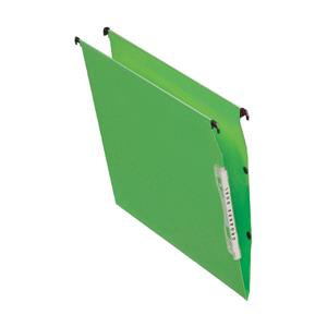 Esselte Orgarex Lateral File Kraft 220g/m2 V-base 15mm Capacity W330mm Green
