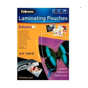 Fellowes (A4) 80 Micron Laminating Pouch