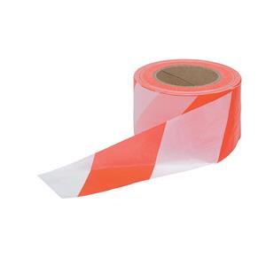 Barrier Tape Dispenser (72mm x 50m) Red/White Polythene