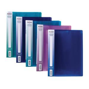 Snopake Electra (A4) Display Book (Assorted Colours) / Pack of 10