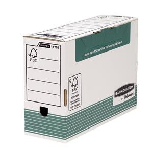 Fellowes Bankers Box 120mm (Foolscap)Transfer File (Green)  Transfer Files