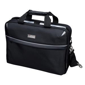 Lightpak SIERRA Laptop Bag (Black) for up to 15 inch Laptops