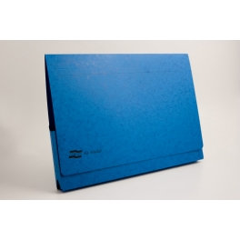 Europa Document Wallet 300 Capacity 32 A3 Blue