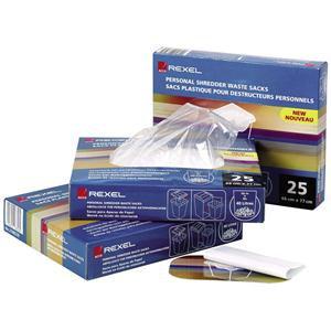 Rexel Shredder Waste Sacks for AS3000