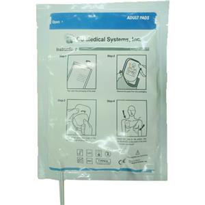 Crest Medical Adult Electrode Pads for iPad NF1200 Defibrillator (Pair)