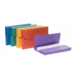 Europa Document Wallet Half Flap 300 Capacity 32 Foolscap Assortment